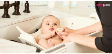 Užijte si doma první koupání vašeho miminka