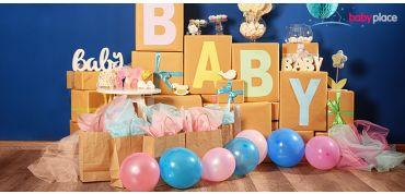 3 tipy na dokonalou baby shower
