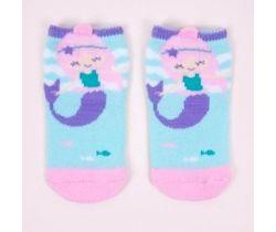 Froté ponožky YO s 3D prvkem Mermaid