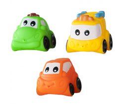 Gumové autíčka 2 ks Hencztoys