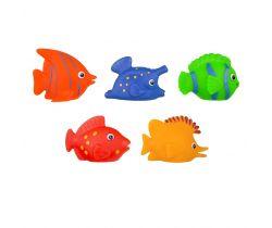 Gumové rybičky 3 ks Hencztoys