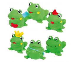Gumové veselé žabičky 3 ks Hencztoys