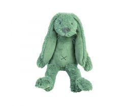 Plyšová hračka Happy Horse Králíček Richie 28 cm Tiny Zelený