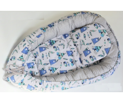 Hnízdo LittleUp Blue Bear