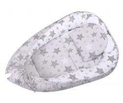 Hnízdo LittleUp Stars Grey