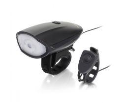 Cykloklakson s předním světlem Hornit Lite