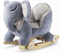 Houpací hračka s melodií Kinderkraft Elephant
