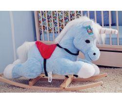 Houpací hračka Smyk Blue Unicorn