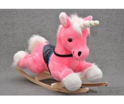 Houpací hračka Smyk Pink Unicorn