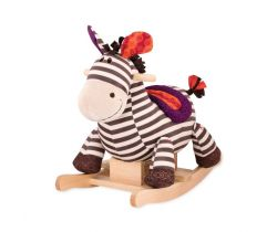 Houpací zebra B-Toys Rodeo Rocker Kazoo
