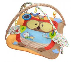Hrací deka BabyMix Owl