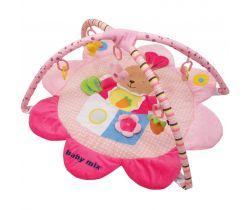 Hrací deka BabyMix Pink Rabbit