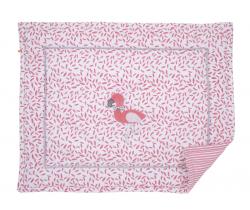 Hrací deka Kikadu Flamingo