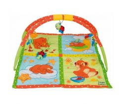 Canpol Méďa hrací deka s hrazdičkou
