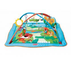 Hrací deka s hrazdou Tiny Love Kick And Play City Safari