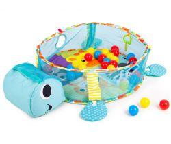 Hrací deka s míčky EcoToys Turtle