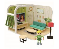 Hrací set 36m+ Jouéco Obývací pokoj