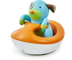 Hračka do vody 12m+ Skip Hop Zoo Pejsek na vodním skútru