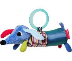 Hračka na kočárek 0m+ Skip Hop Technicolor Pejsek Smíšek