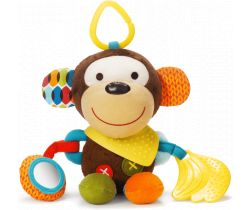 Hračka na kočárek 3m+ Skip Hop Bundana Buddies Opička
