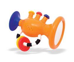 Hrající trumpeta Sassy