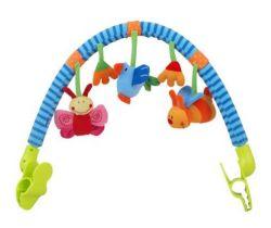 Hrazdička s hračkami BabyMix  Beruška