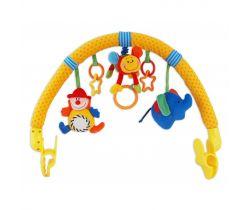 Hrazdička s hračkami BabyMix Klaun