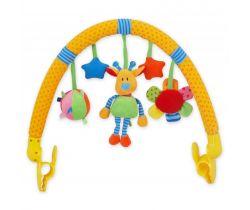Hrazdička s hračkami BabyMix  Žirafka
