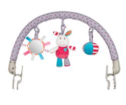 Hrazdička s hračkami BabyOno Frankie/Mickey