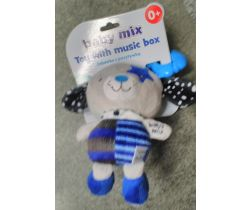 Hudební hračka BabyMix Blue Dog With Star