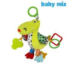 Hudební hračka BabyMix Krokodýlek