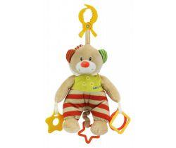 Hudební hračka BabyMix Medvídek s kapucí