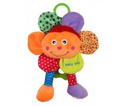 Hudební plyšová hračka BabyMix Květinka