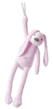 Hudební plyšová hračka Happy Horse Králíček Reece Růžový