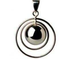 Hudební přívěsek Babylonia Bola Double Ring Black