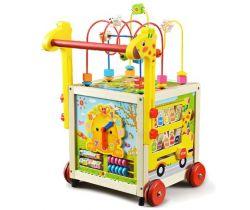 Interaktivní chodítko Wooden Toys W16
