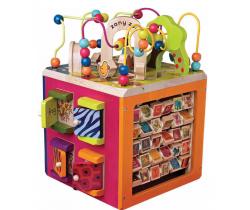 Interaktivní kostka B-Toys Zany Zoo