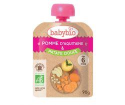 Jablko sladké brambory 90g Babybio