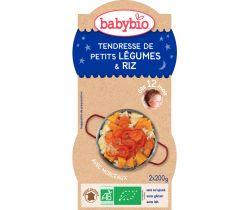 Jemná zeleninka s rýží 2x200g Babybio