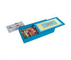 Bingo v dřevěné krabičce Jeujura