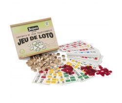 Bingo v dřevěném boxu Jeujura