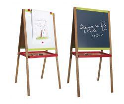 Dřevěná multifunční tabule Drawing velká Jeujura