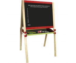 Dřevěná multifunční tabule skládací velká Jeujura