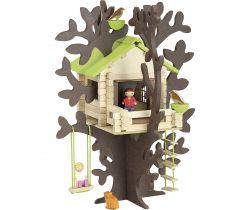 Dřevěná stavebnice Jeujura Dům na stromě