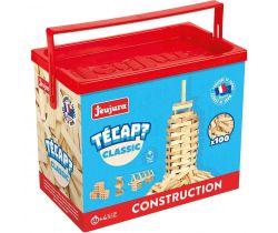 Dřevěná stavebnice Jeujura TECAP 100 dílků