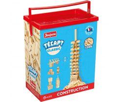 Dřevěná stavebnice Jeujura TECAP 200 dílků