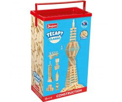 Dřevěná stavebnice Jeujura TECAP 300 dílků