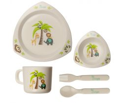 Jídelní sada Bo Jungle Dinner Set