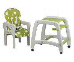 Jídelní židlička 2v1 EcoToys Green