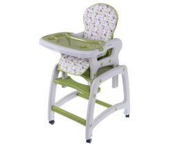 Jídelní židlička 3v1 EcoToys Green